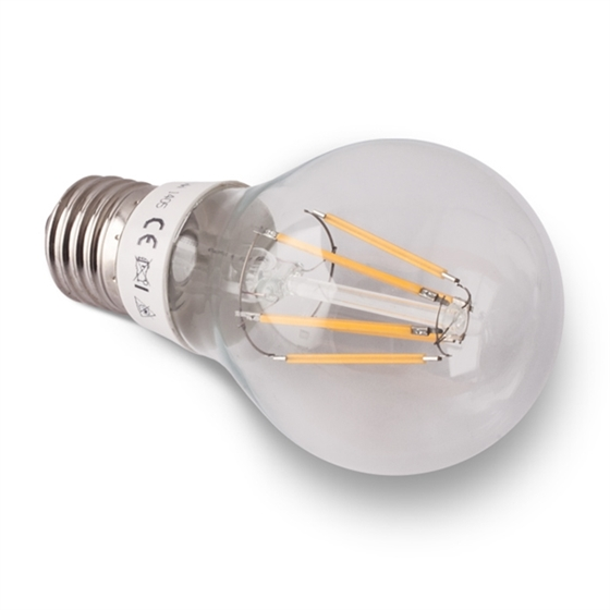 Picture of LED Bulb A60 6W E27 230V warm white, FILAMENT LED