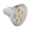 Immagine di LED bulb MR11 G4 6 LED SMD 5050 12 V warm white