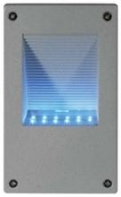 Immagine di LAMPADA DA MURO A LED SILVER SEGNAPASSI A LED SILVER