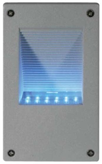 Immagine di LAMPADA DA MURO A LED SILVER