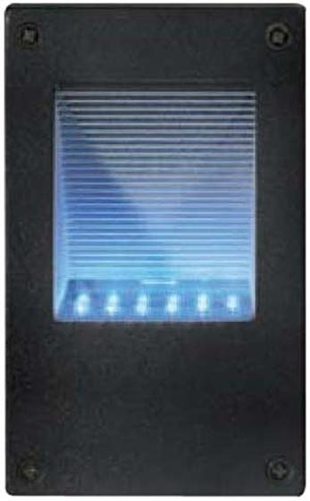 Immagine di LAMPADA DA MURO - 12 LED - NERO