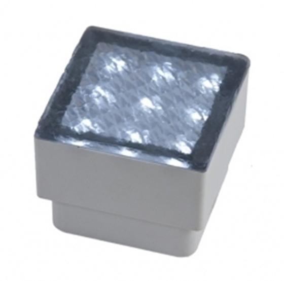 Immagine di SEGNAPASSO DA ESTERNO A INCASSO - BRIQUE 9 LED