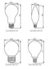 Immagine di GLS/SR C35 25W E14 Lampadina resistente agli urti