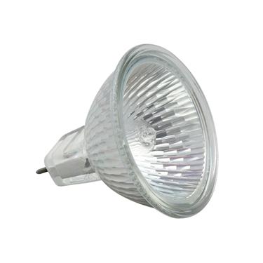 Immagine di MR-16C 20W60 Lampadina alogena con vetro di protezione