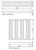 Picture of PLAFONIERA RETTANGOLARE CON GRIGLIA PER  INTERNO / SOSPENSIONE - XEDOS 228 NT-EVG  - 2x28W