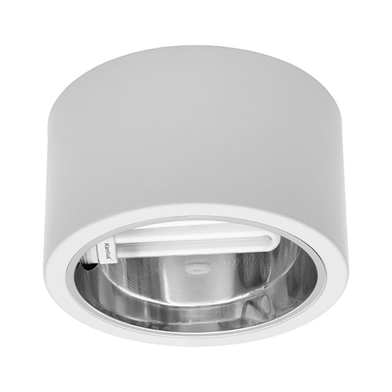 Immagine di Proiettore tipo downlight ESTERNO A SOFFITTO PER INTERNO - MAYOR DLP-EVG226-W