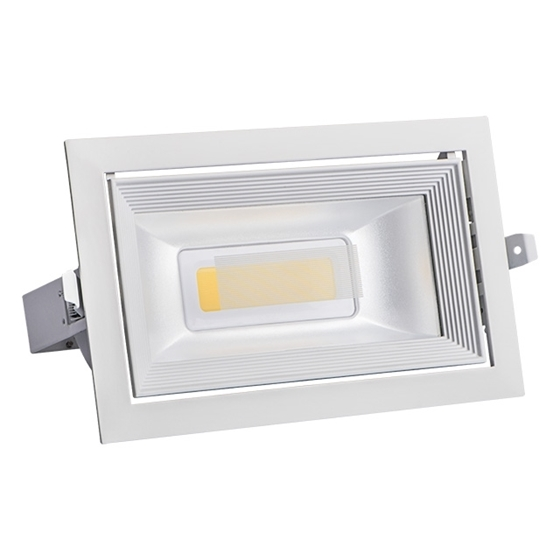 Immagine di MISTRAL MCOB 30W-NW - PLAFONIERA TIPO DOWNLIGHT A LED MCOB