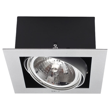 Picture of MATEO DLP-150-GR -  PLAFONIERA/FARETTO DOWNLIGHT A INCASSO - IP20 - G53
