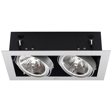 Picture of MATEO DLP-250-GR - PLAFONIERA/FARETTO DOWNLIGHT A INCASSO - IP20 - G53