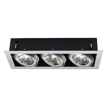 Picture of MATEO DLP-350-GR- FARETTO/PLAFONIERA DOWNLIGHT DA INCASSO - IP20 - G53