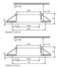 Picture of Faretto incasso da soffitto per interno quadrato fisso - RADAN CT-DSL50