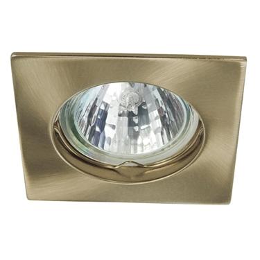 Immagine di Faretto incasso da soffitto quadrato fisso - NAVI CTX-DS10 disponibili in diversi colori