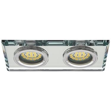 Immagine di FARETTO A INCASSO RETTANGOLARE CON DUE FARETTI - MORTA CT-DSL250 - disponibile in diversi colori
