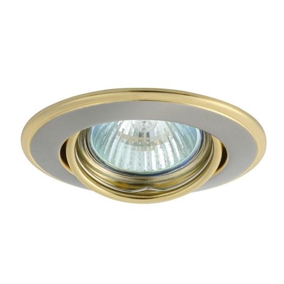 Picture of Faretto incasso da soffitto - HORN CTC-3115-nickel satinato e gold