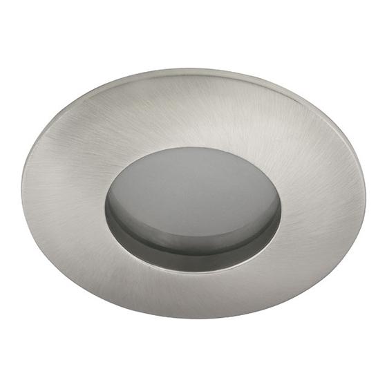 Immagine di FARETTO/Portalampada stagno da soffitto - QULES CT-DS83-SN