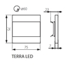 Picture of TERRA LED - 0,8W - SEGNAPASSO DA INTERNO