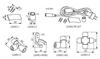"""Immagine di GIVRO-I Elementi del sistema GIVRO LED (connettore """"I"""")"""