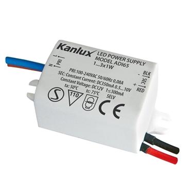 Immagine di ADI 350 1x3W Alimentatore elettronico a LED