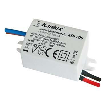 Picture of ADI 700 1x3W Alimentatore elettronico a LED