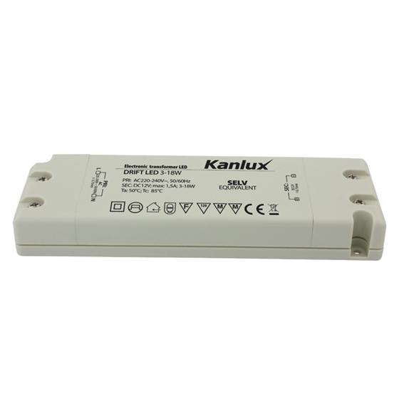 Immagine di Alimentatore elettronico a LED - DRIFT LED 3-18W - 12V DC