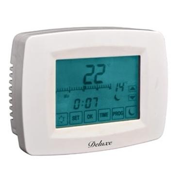 Cronotermostati e termostati led light plus vendita for Lafayette termostato manuale
