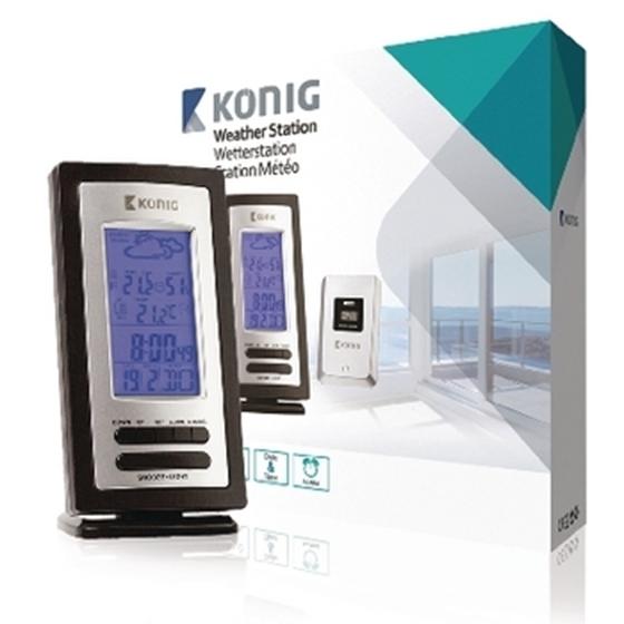Picture of Stazione meteorologica König con sensore wireless esterno