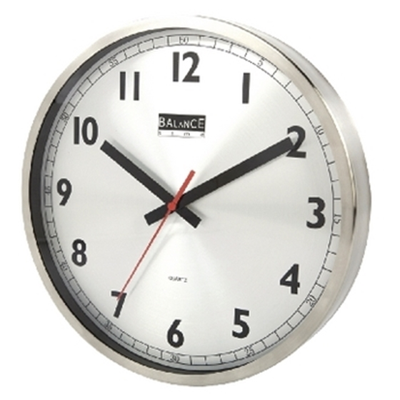 Picture of RVS Wall clock