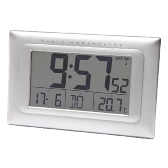 Immagine di Radio controlled clock LCD