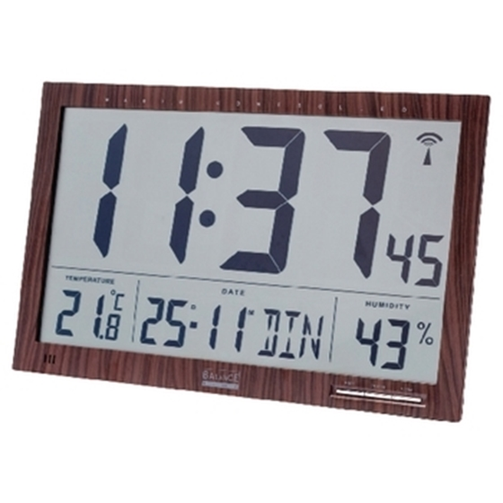 Picture of LCD radio controlled wall clock