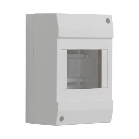 Immagine di DB104W 1X4P/SM - Quadro di distribuzione con guide DIN