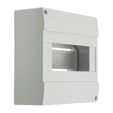 Immagine di DB108W 1X8P/SM - Quadro di distribuzione con guide DIN