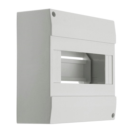 Picture of DB108W 1X8P/SM - Quadro di distribuzione con guide DIN