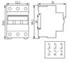 Immagine di JVD1-100 3/80A Contattore di isolamento