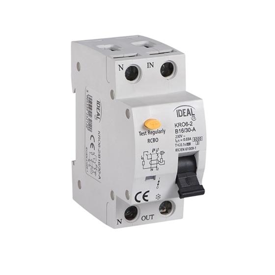 Picture of KRO6-2/C10/30 Interruttori differenziali con protezione contro sovracorrenti