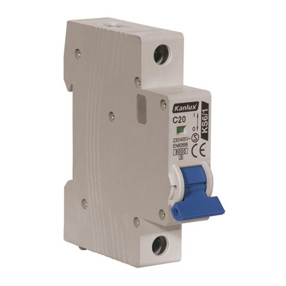 Picture of KS6 C20/1 Interruttori automatici