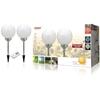 Immagine di Lampada LED da giardino a energia solare con picchetto e telecomando (confezione da 2)