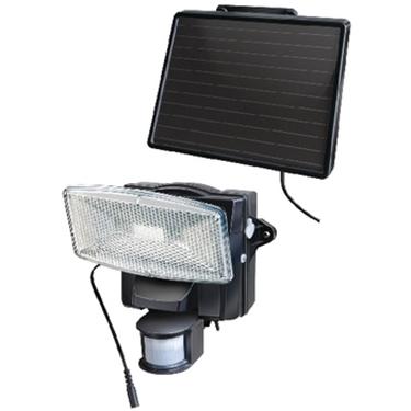 Immagine di Luce solare da parete 8 LED nero