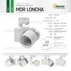 Immagine di MDR LONCHA PRO NERO 830 / 27,6W / 45° / 3001-4000 LM / LUCE  CALDA