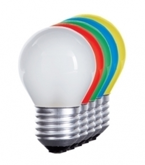 Picture of LED 230V - 1W - E27 - VARI COLORI