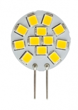 Picture of LED G4 12V 1,2W - 20 mm - WW