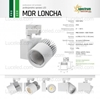 Picture of MDR LONCHA PRO NERO 930 / 45,3W / 20° / 4000-5001 LM / LUCE CALDA - Ra 90