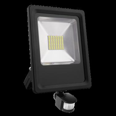 Picture of PROIETTORE LED SMD 50W - CW - con sensore