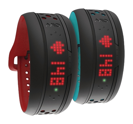 Immagine di Frequenza Cardiaca Tracker activity Bluetooth 4.0 Nero / Rosso