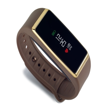 Picture of OROLOGIO TOUCH SCREEN - Activity Tracker ZeFit2 Pulse brown gold