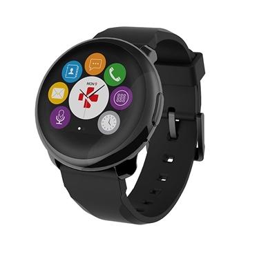 Picture of Orologio per Smartphone/Tablet con bluetooth - MyKronoz Smartwatch ZeRound black