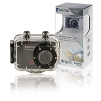 Picture of Full HD Action Camera 1080p Custodia Impermeabile Nero