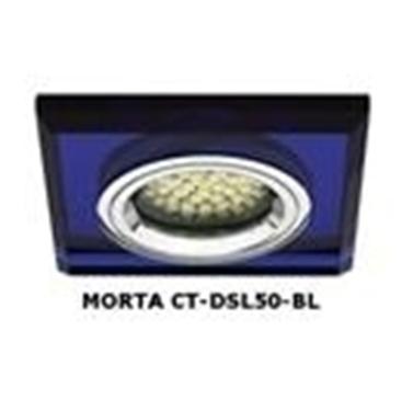 Picture of FARETTO AD INCASSO QUADRATO FISSO - MORTA CT-DSL50 - blu