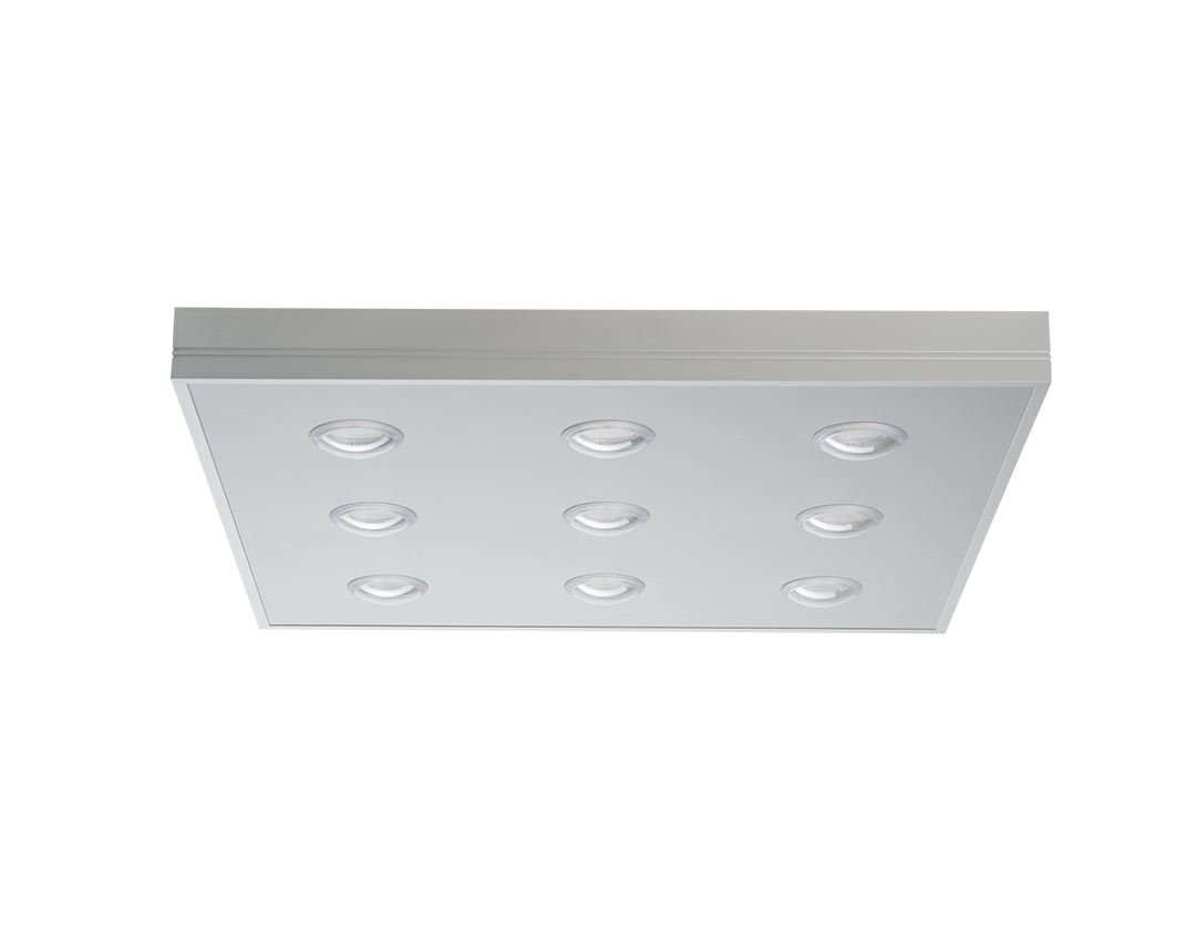 Plafoniere A Soffitto Gu10 : Mars pl alluminio w soffitto led light plus vendita