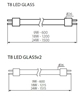 Picture of LAMPADA - T8 LED GLASSv2 - 24W - NW