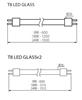 Immagine di LAMPADA - T8 LED GLASSv2 - 24W - NW